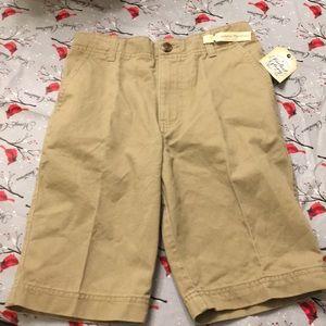 Faded Glory khaki shorts.